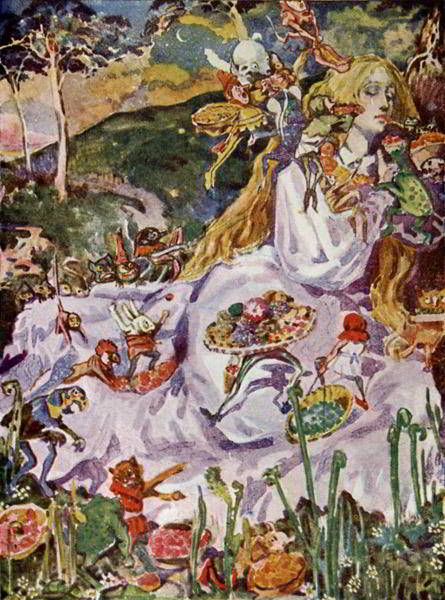 goblin market You are surrounded by a chaos of tents and stalls - goblins and fairies chatter on the green, (here ye must seek out random thoughts and chatter natter .